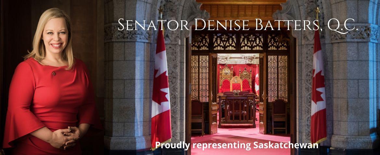 Senator Denise Batters - Proudly representing Saskatchewan