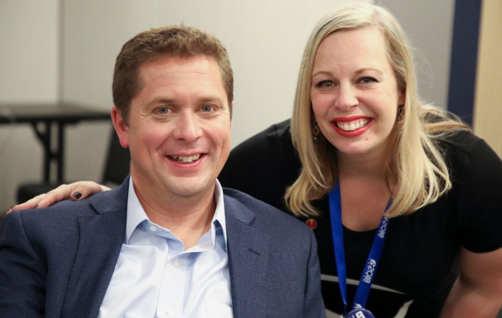 With Andrew Scheer - Conservative National Convention 2018, Halifax